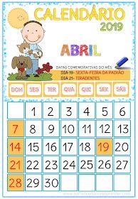 A Arte de Ensinar e Aprender: CALENDÁRIOS 2019 Math For Kids, Professor, Curriculum, Classroom, Activities, School, Reading Activities, School Calendar, Homeschool