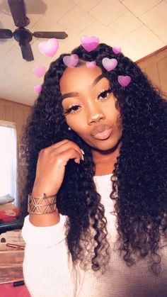 JinglesHair Kinky Curly Virgin Hair Closure With 3 Bundles Deals Best Unprocessed Peruvian Jerry Curly Remy Human Hair Extensions My Hairstyle, Wig Hairstyles, Hairstyles 2016, Hairdos, Remy Human Hair, Human Hair Extensions, Curly Hair Styles, Natural Hair Styles, Natural Curls