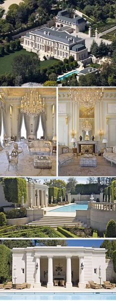 Fleur De Lys, Beverly Hills – Mariah Carey's palace.  For the woman with the most expensive pair of legs, it was only fair she also had one of the most expensive houses in the world. Mariah Carey apparently had no problem scraping together a nice down payment on this palace in Beverly Hills. The Fleur De Lys is among the world's most expensive estates...