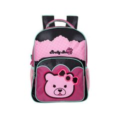 MOCHILA BACKPACK  PRETTY BEAR 0727