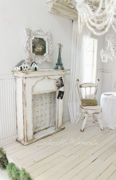 "Josephine Shabby Chic Cottage is one of the shabby chic cottages like the one in my How To book. Except, I raised the 2nd floor by 1"" so the..."