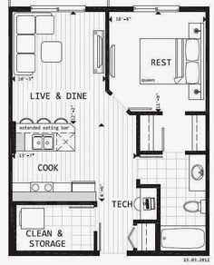 Tiny House Blueprint | I Just Love Tiny Houses!
