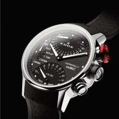 Edox WRC Chronorally quartz chronograph (ref. 36001 3 NIN) More