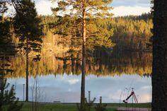 Aurinkoinen Saimaa lokakuussa.