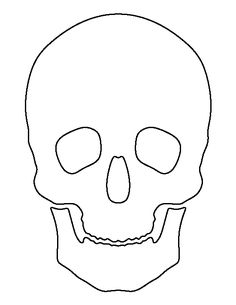 photo about Skull Template Printable titled 17 Least difficult Skull Template pics within 2015 Coloring Webpages