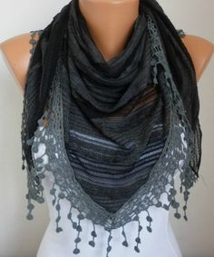 Lace Scarf - Scarves