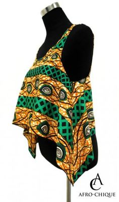 (12) African print crop top with linen top (1) and khaki pants (2) or linen pants (3) sandals (13) sunglasses and luggage