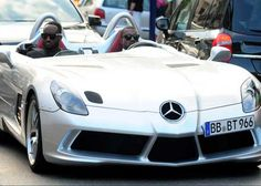 #KanyeWest Turns Heads in $1.7 Million Dollar #Mercedes SLR Stirling Moss. Is this the most outrageous celebrity car? Click to find out...