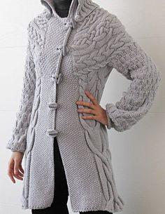Minimissimi Кабельное Пальто Вязание шаблон
