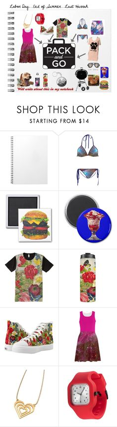 """""""Pack and Go: Labor Day"""" by sandyspider ❤ liked on Polyvore featuring SIGG, Zipz, American Apparel, contestentry, fallfashion, fallstyle, Packandgo and zazzle"""