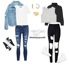 Discover recipes, home ideas, style inspiration and other ideas to try. Hipster School Outfits, Korean Fashion Kpop Inspired Outfits, Kpop Fashion Outfits, Korea Fashion, Korean Outfits, Outfits For Teens, Dance Outfits, Girl Outfits, Casual Outfits