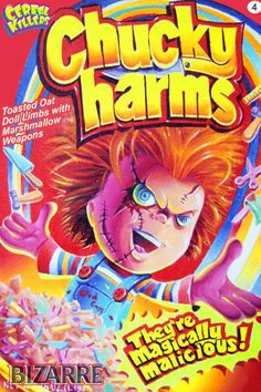 Change your kids morning cereal boxes to these.