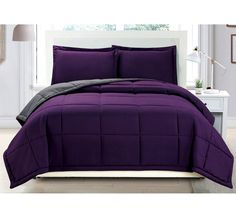 Best 25+ Purple comforter ideas on Pinterest | Purple ...