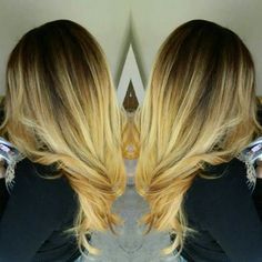 Gorgeous long ombre hair
