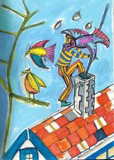 """Saatchi Art Artist Anna Camille; Drawing, """"Chimney"""" #art"""