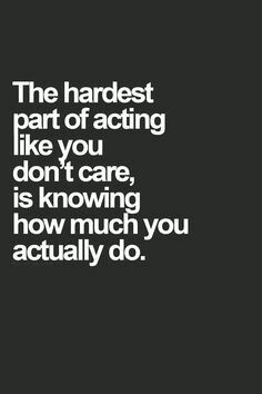 Caring.