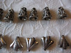 'Sterling Silver Cones and Caps ' is going up for auction at  9am Fri, Oct 19 with a starting bid of $5.
