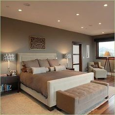 Bedroom Paint Ideas Brown bedrooms - arteriors galaxy star mirror mocha walls espresso