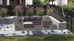 gartengestaltung – Google-Suche Modern Backyard, Outdoor Furniture Sets, Outdoor Decor, Amazing Gardens, Garden Landscaping, Patio, Landscape, Green, Obi