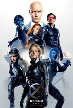 El Puffs - X-Men Apocalypse movie poster #Defend #Xmen #movie