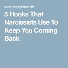 Narcissist ex keeps coming back