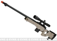 WELL L96 Bolt Action Airsoft Sniper Rifle w/ Folding Stock - Tan
