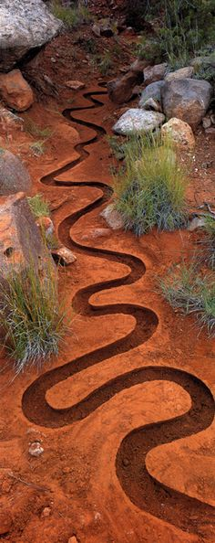 Andy Goldsworthy Interesting effect isn't it?