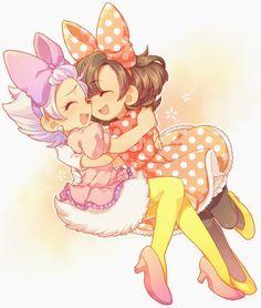 Anime and Manga  Anime Kida Anime -   #disney #minniemouse #daisyduck