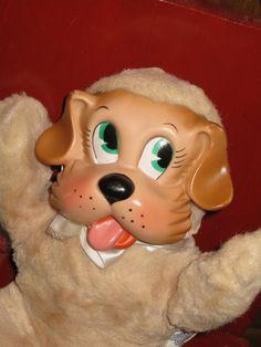Knickerbocker Rubber faced 1950 Puppy Doll