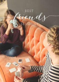 salt lake city utah tween photographer Carrie Owens showcases best friend sessions