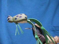 Fly Tying for Beginners Foam Frog with Jim Misiura