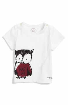 8f73cb9febce7b Burberry  Owl  Graphic Tee (Baby Girls) available at  Nordstrom Owl Graphic