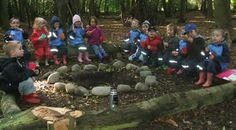 Danish style Forest Schools. School 4 hours a day with no toys, only mother nature to inspire imagination. <3 <3