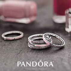 Be pretty in pink! Stack pastel rings to create a look that is feminine yet flirty. Let PANDORA Jewelry fit your fall style.