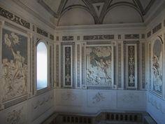 Neoclassical Stucco Decorations (late 18th century) in the Benedictine Monastery of San Nicolò l'Arena in Catania, Sicily, Italy #catania #sicily #sicilia