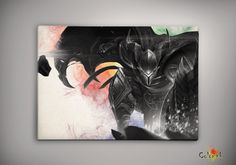 League of Legends  DragonSlayer Pantheon Watercolor illustrations Print  Wall Art Poster Giclee Wall Decor Home Hanging Gift Multi Size n653 on Etsy, 31,19zł