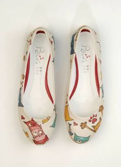 Dogo shoes Cat Lovers Flats