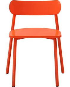 A sleek chair with bold color equals a must-have piece! Get it here: http://www.bhg.com/shop/cb2-fleet-hot-orange-chair-p50c34c68e4b0efa3cd5840dc.html?mz=a