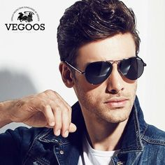 VEGOOS Brand Design Polarized Cool Men Pilots… Get an EXTRA 20% OFF ALL Orders with discount code: FWCOM20 #BestPrice #DiscountCode