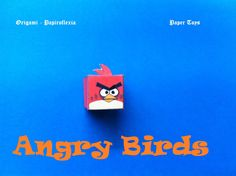 Paper Toys. Origami - Papiroflexia. Angry Birds 3D #7