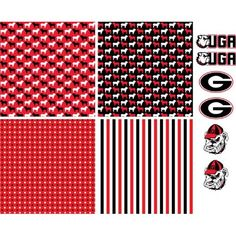 Georgia Bulldog Craft Vinyl!  Dawg fans get your craft on!  Visit Springfed Printing for the largest selection of Craft Vinyl!