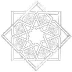 Islamic Art Pattern, Arabic Pattern, Pattern Art, Pattern Design, Mandala Design, Mandala Art, Textures Patterns, Print Patterns, Turkish Art