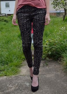 Colette Patterns Clover trousers