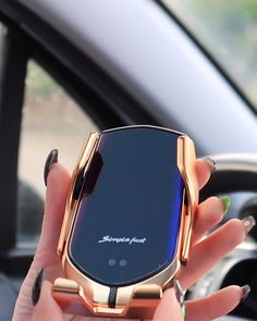 Perfect combination of wireless charger with automatic sensor and flexible cell phone holder - Electronics gadgets,Electronics apple,Electronics for teens,Electronics organization,Electronics projects Latest Technology Gadgets, High Tech Gadgets, Car Gadgets, Gadgets And Gizmos, Electronics Gadgets, Auto Gif, Smartphone, Cool Gadgets To Buy, Wearable Device