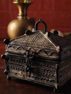 19th Century Brass Box