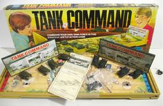Use military strategy to destroy all four of your enemy's tanks before they wipe-out your Tank Command