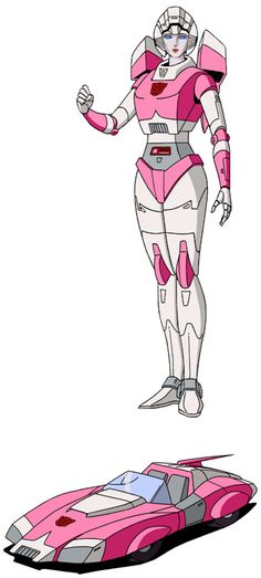 Arcee -- every nerd& dream girl -- she& also a robot and a sports car! Arcee Transformers, Transformers Characters, Transformers Prime, Original Transformers, Transformer Tattoo, Transformers Generation 1, Transformers Collection, Transformers Masterpiece, Sport Cars