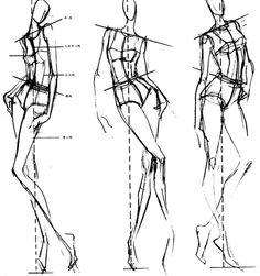 b4614860362c439ec3dcfcdc2ecaf22a8fca0e941d059-Iieuag_fw658 (510×543) Fashion Illustration Sketches, Fashion Sketchbook, Fashion Sketches, Fashion Design Template, Fashion Templates, Fashion Figure Drawing, Body Template, Croquis Fashion, Fashion Design Drawings