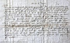 'Call to arms': The letter written in 1543 by the King to George Booth, asking him to raise troops to fight Scotland  Read more: http://www.dailymail.co.uk/news/article-2108110/Letter-informing-Henry-VIII-longed-sons-birth-469-years-stately-home.html#ixzz2uMMyqE79  Follow us: @MailOnline on Twitter | DailyMail on Facebook