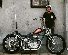 "Chopper Collections on Instagram: ""Weekend mood ⛅⛅ Reposted from @millart.said . . . . . #chopperdosist #millartsaid #smokelessco #swingarmy #xlh1200c #sportster…"" Virago Bobber, Bobber Bikes, Bobber Motorcycle, Triumph Chopper, Bobber Chopper, Custom Street Bikes, Custom Bikes, Custom Cars, Rat Rod Girls"